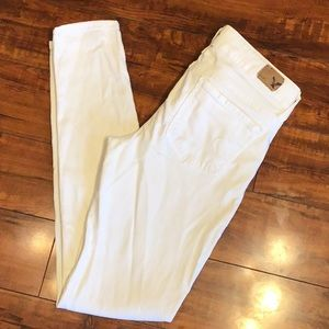 American eagle white jogging
